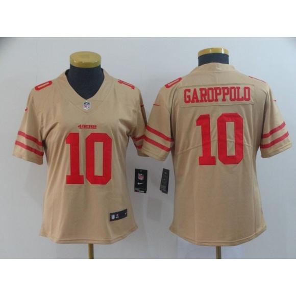 promo code 18681 977e0 Women San Francisco 49ers Jimmy Garoppolo Jersey NWT